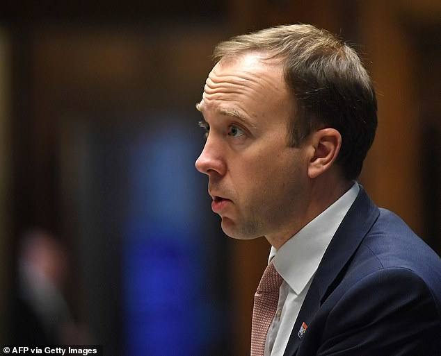 In a voice quivering with indignation, the senior Tory MP on the end of the line said he had something rather startling to tell me (writes Brendan Carlin) ¿ and he was emphatically certain of the details. 'I saw him,' he exclaimed. 'I saw the Health Secretary, the man telling the rest of the country how to behave, flouting his own Covid curfew rules'